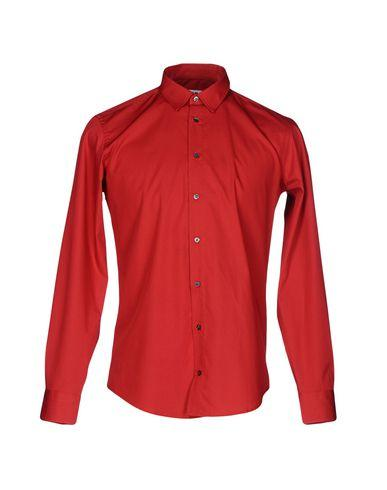 Msgm Solid Color Shirt In Red