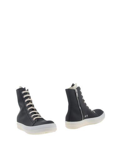 Rick Owens Drkshdw Boots In Black
