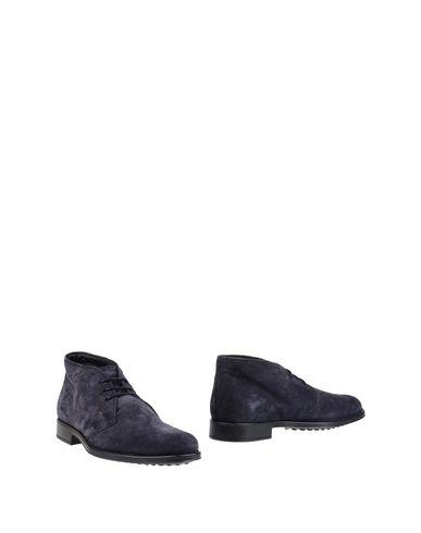Tod's Boots In Dark Blue