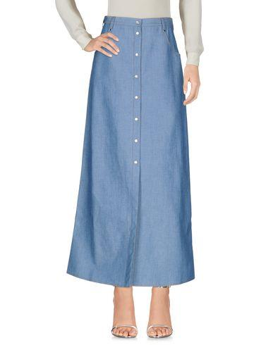 Alessandra Rich Long Skirt In Blue