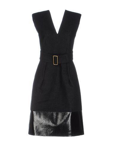Calvin Klein Collection Knee-Length Dresses In Dark Blue