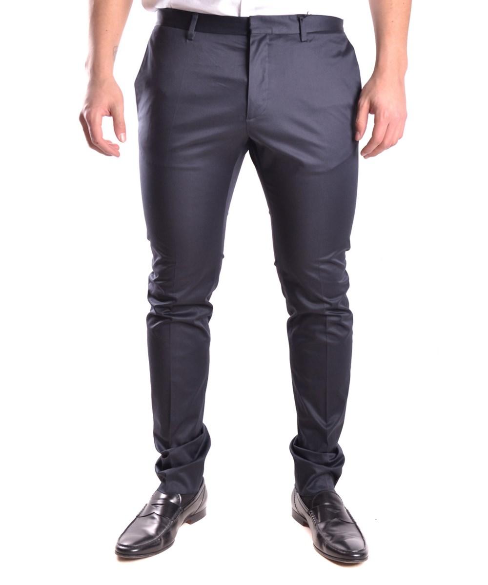Dsquared2 Men's  Blue Cotton Pants
