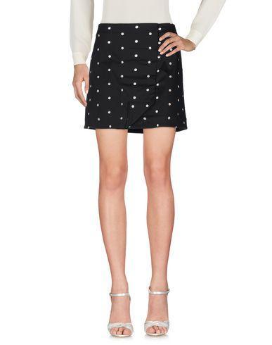 Roland Mouret Mini Skirt In Black