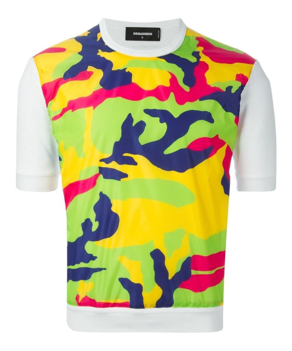 Dsquared2 Men's  Multicolor Cotton Jumper In Multiple Colors