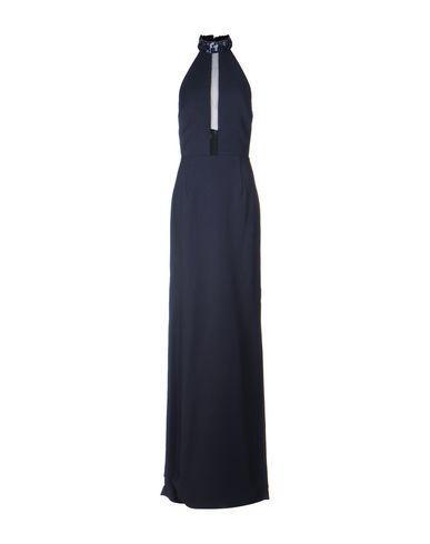 Michael Kors Long Dresses In Dark Blue