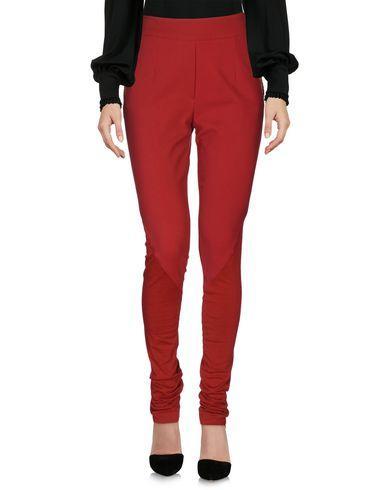 Philipp Plein Casual Pants In Brick Red