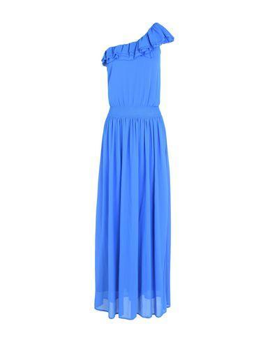Pinko Long Dress In Azure