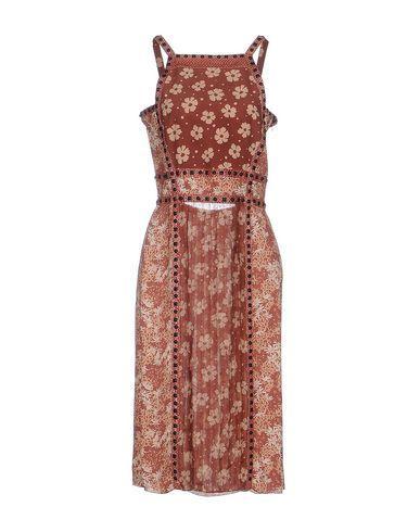 Bottega Veneta Knee-Length Dress In Pastel Pink