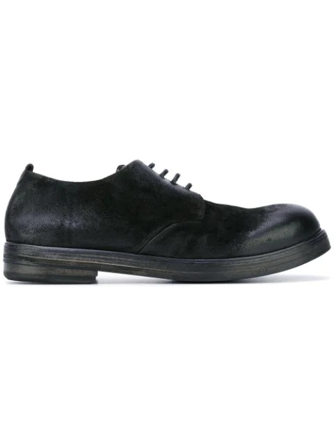 MarsÈLl Round Toe Derby Shoes - Black