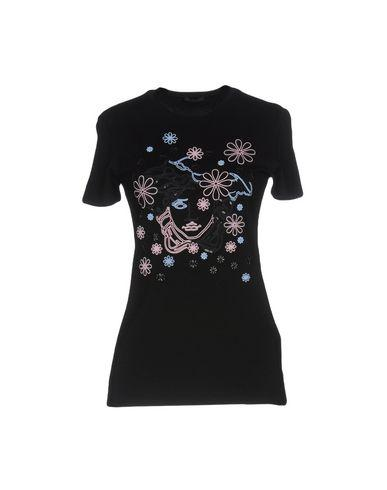 Versace T-Shirts In Black