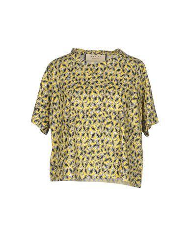 Marni T-Shirts In Yellow