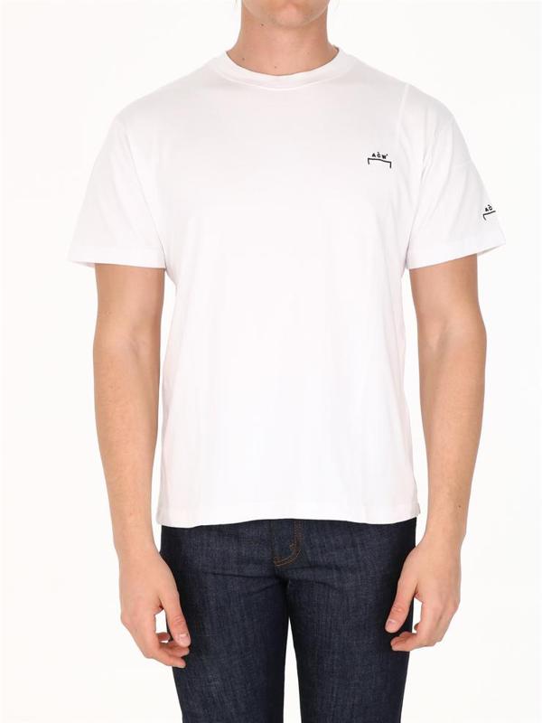 A-cold-wall* T-shirt Logo White
