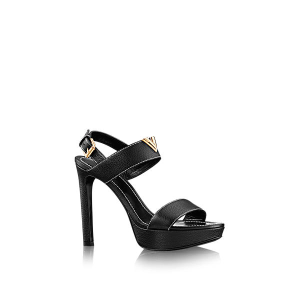 e0b056d76b39 Louis Vuitton New Wave Sandal In Noir