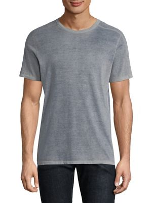John Varvatos Short Sleeve Tee In Regal Blue