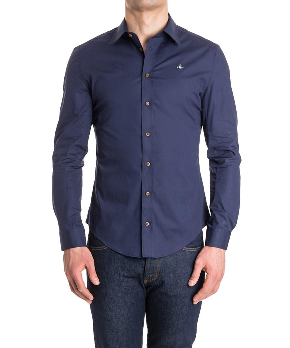 Vivienne Westwood Classic Stretch Shirt Blue/Navy