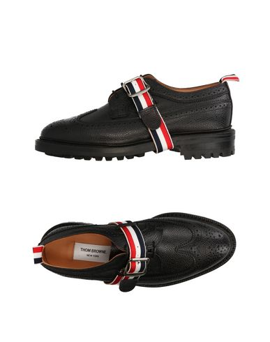 Thom Browne Lace-up Shoes In Black