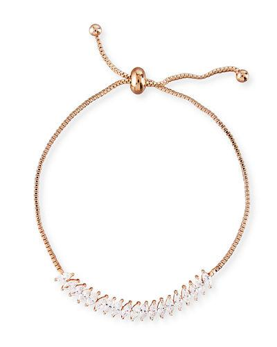 be756f50f Fallon Toggle Jagged Edge Crystal Bracelet In Rose Gold | ModeSens