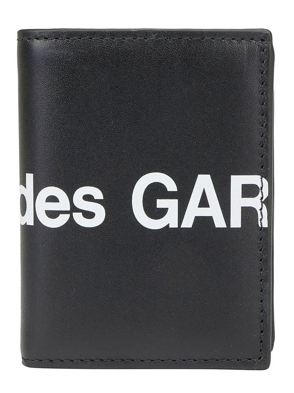 Comme Des Garçons Men's Black Other Materials Wallet