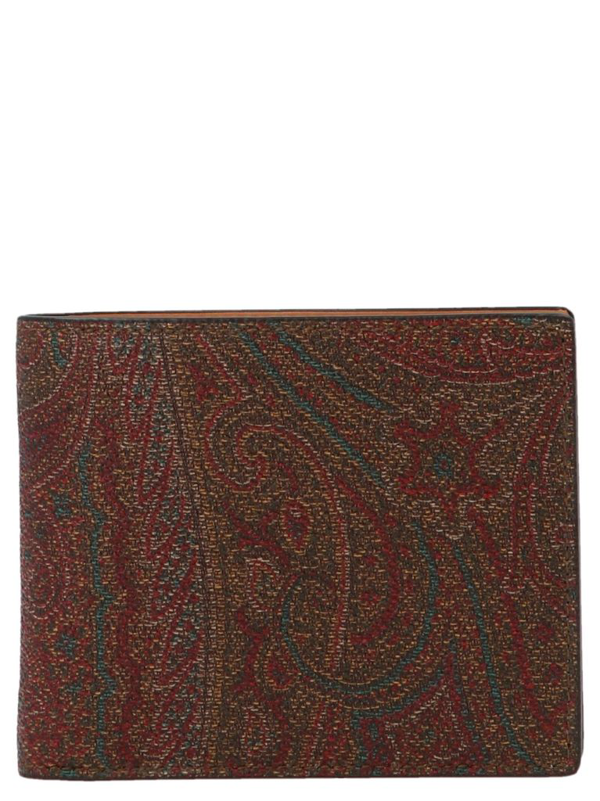 Etro Men's Multicolor Other Materials Wallet