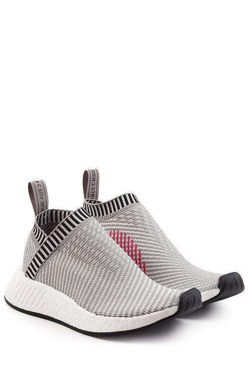 mobilia Reparto Adesso  Adidas Originals Nmd Cs2 Primeknit Sneakers In Grey | ModeSens