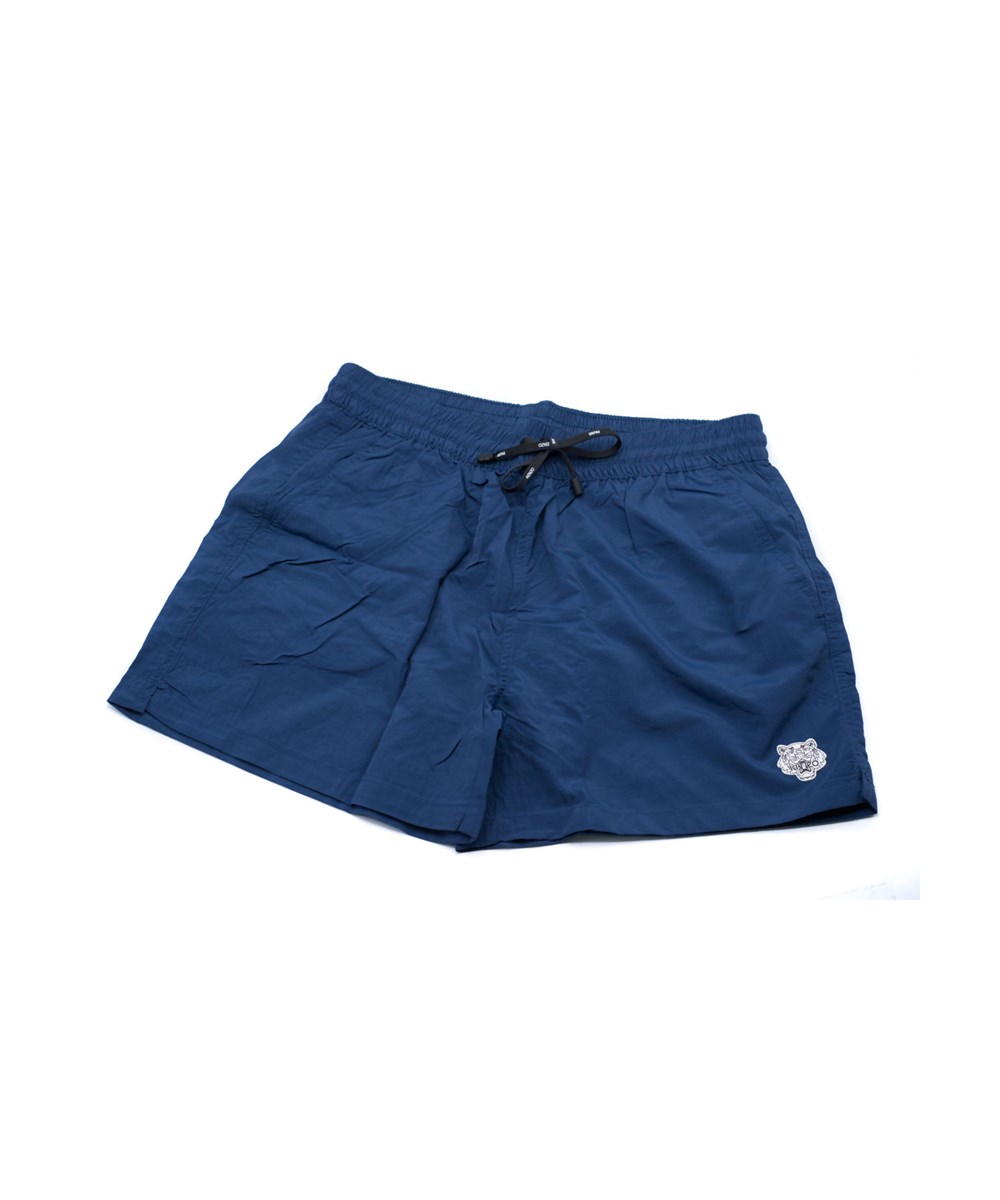 aa8c3595 Kenzo Mens Navy Bathing Suit Swim Shorts Tiger In Blue | ModeSens
