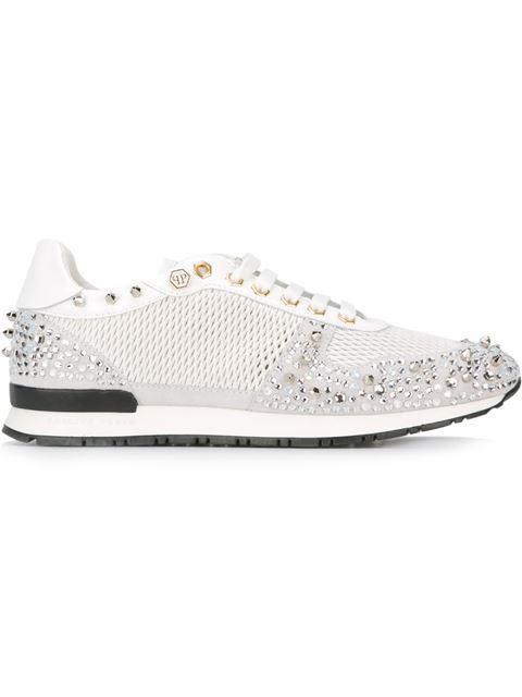 Philipp Plein 'sanna' Sneakers In White