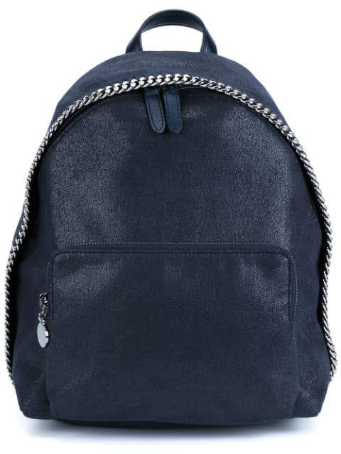 Stella Mccartney Blue Small Falabella Backpack