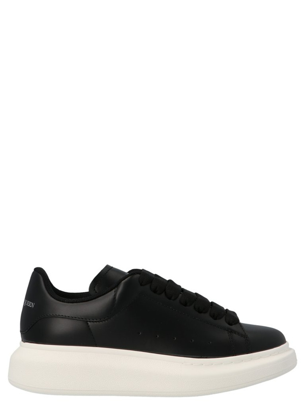Alexander Mcqueen Oversize Sneakers In Black And White