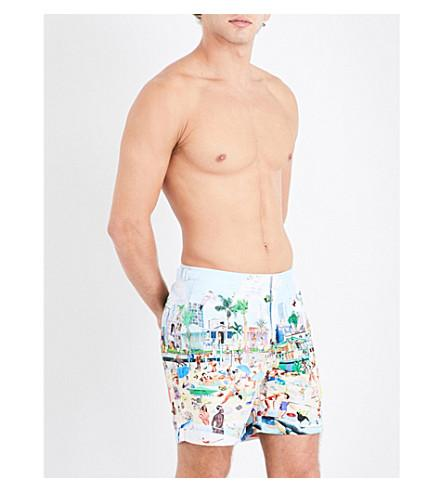 5e9511694d Orlebar Brown Bulldog Sanda Anderlon-Print Swim Shorts In Beach ...