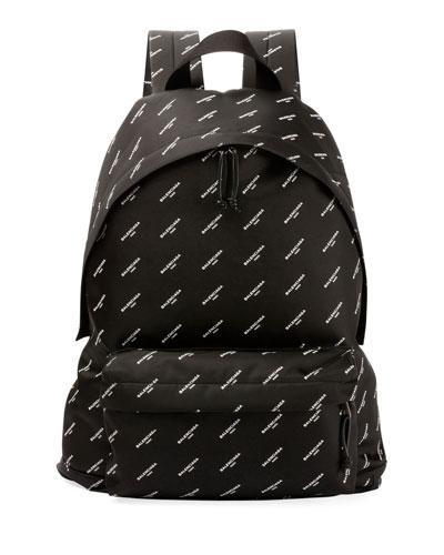 22c667c6c9 Balenciaga Explorer Printed Nylon Backpack - Black - One Siz In Black Multi