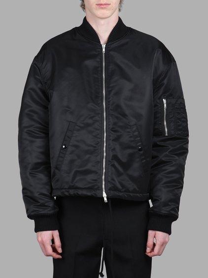 Raf Simons Men's Black Bomber Jacket