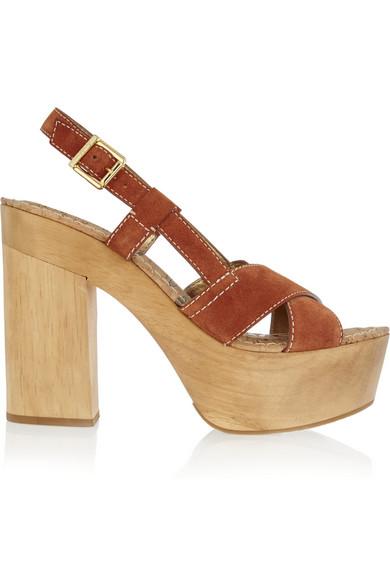 Sam Edelman 'mae' Platform Sandal (women) In Ginger Spice