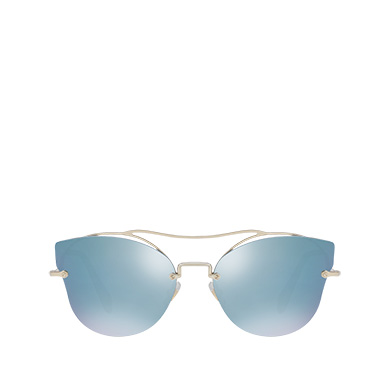 387e76e8db6e Miu Miu Scenique Sunglasses In Mirrored Silver Lenses | ModeSens