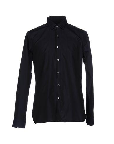 225d00cf02f Lanvin Solid Colour Shirt In Dark Blue