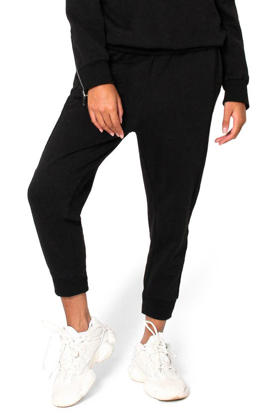 Absence Of Colour Issey Zipper Detail Joggers In Black