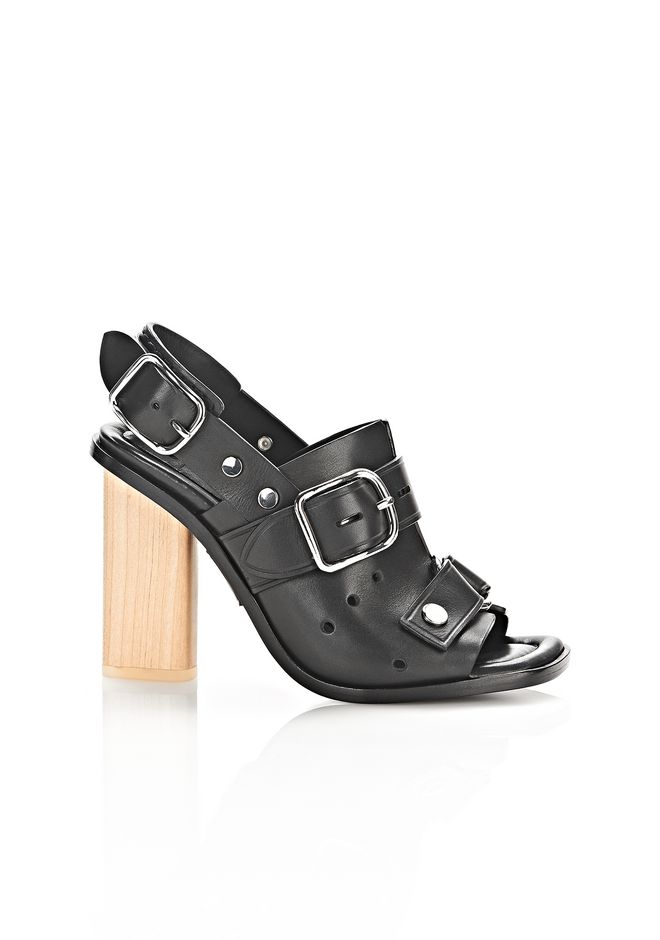 Alexander Wang Edda High Heel Sandal In Black