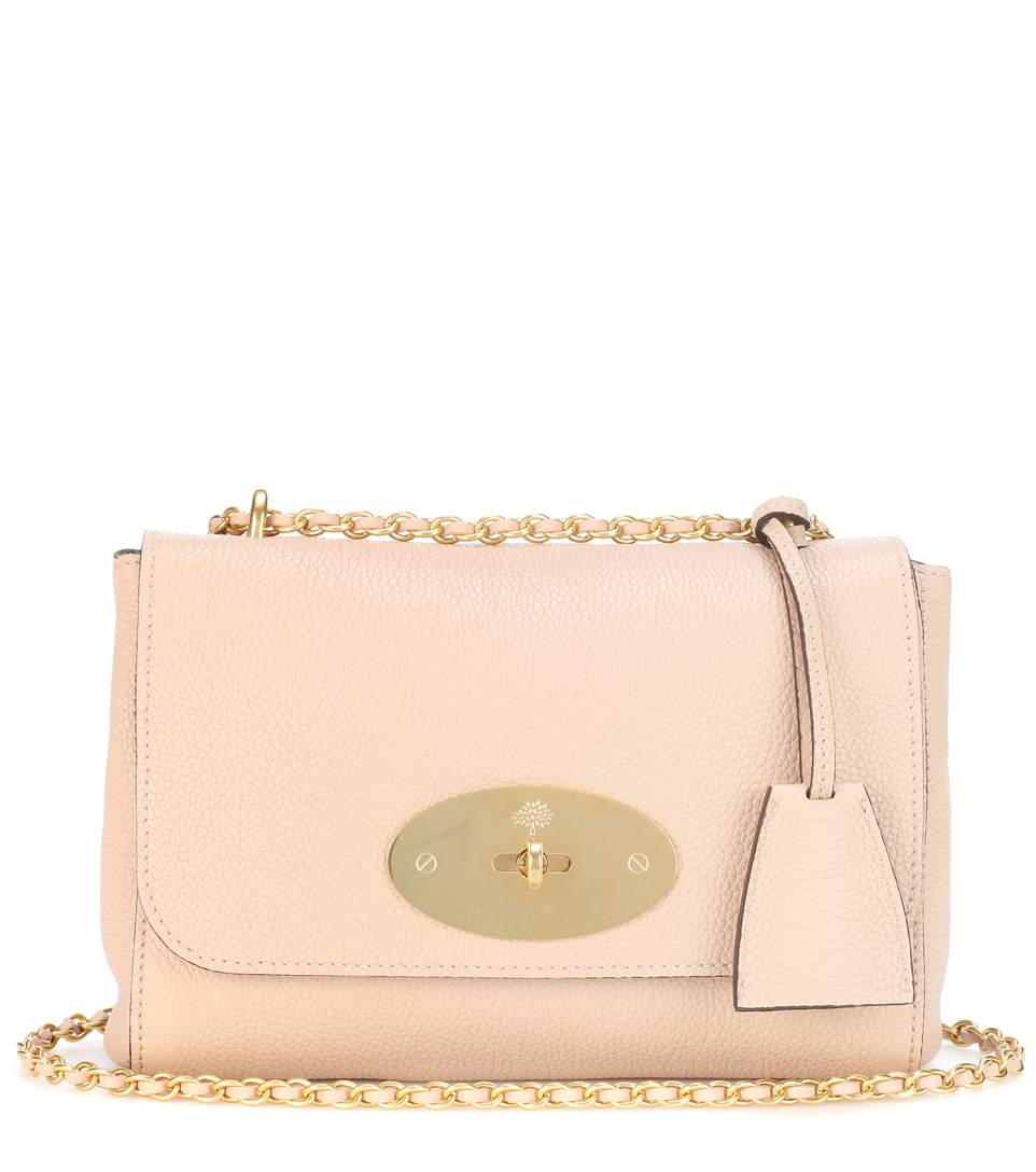 8803ff053e32 Mulberry Leather Shoulder Bag In Pink