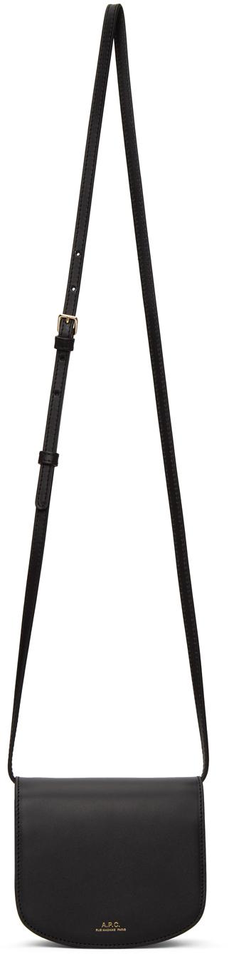 A.p.c. Sac Dina Crossbody Bag In Black In Lzz Black