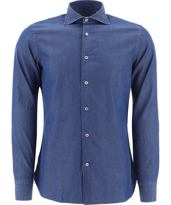 Borriello Napoli Idro Shirt In Blue