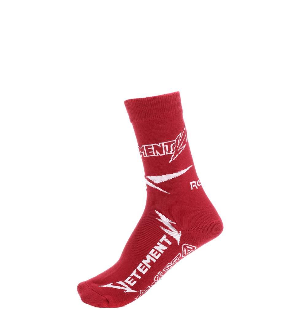 Vetements X Reebok Cotton-Blend Socks In Lurguedy