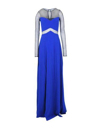 Pinko Long Dress In Bright Blue