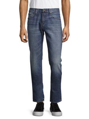 J Brand Faded Cotton Denim Jeans In Quantos