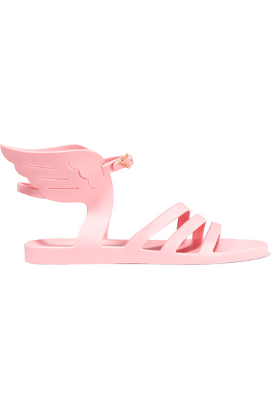 Ancient Greek Sandals Ikaria Jelly Wings Rubber Sandals, Light Pink