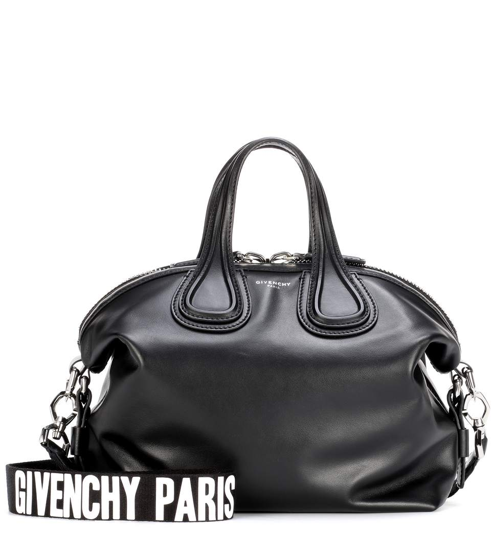 31f442ffcb Givenchy Nightingale Small Leather Tote In Llack