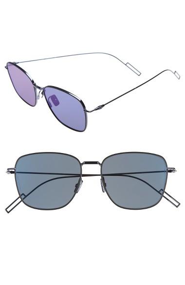 16c024fc9833 Dior Homme  Composit 1.1S  54Mm Metal Sunglasses - Blue Palladium  Blue  Mirror
