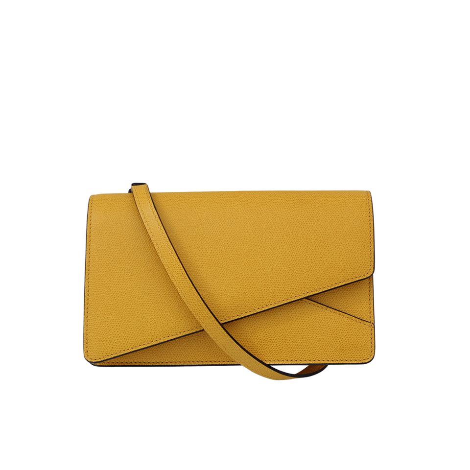 Valextra Small Twist Bag In Ocra