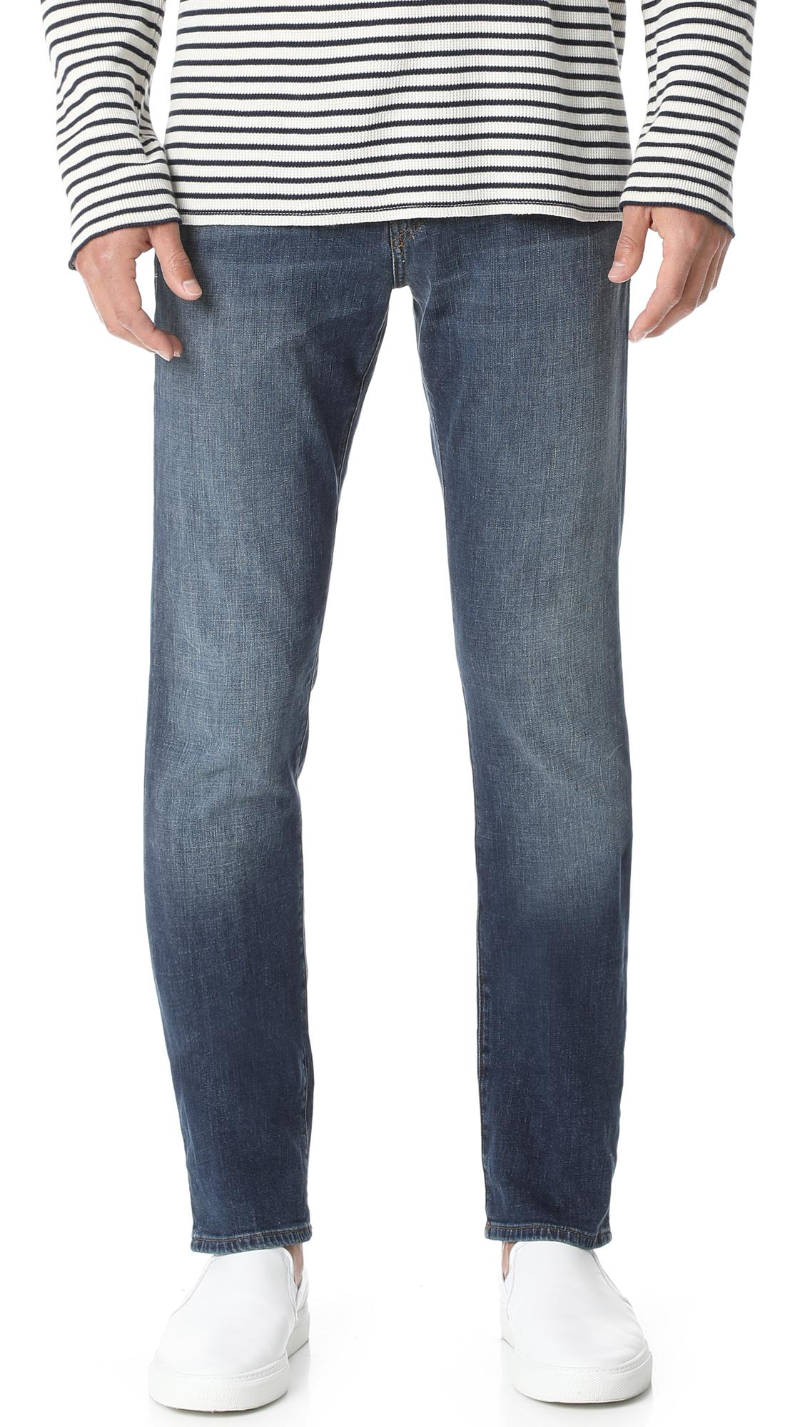 J Brand Kane Straight Fit Jeans In Helium