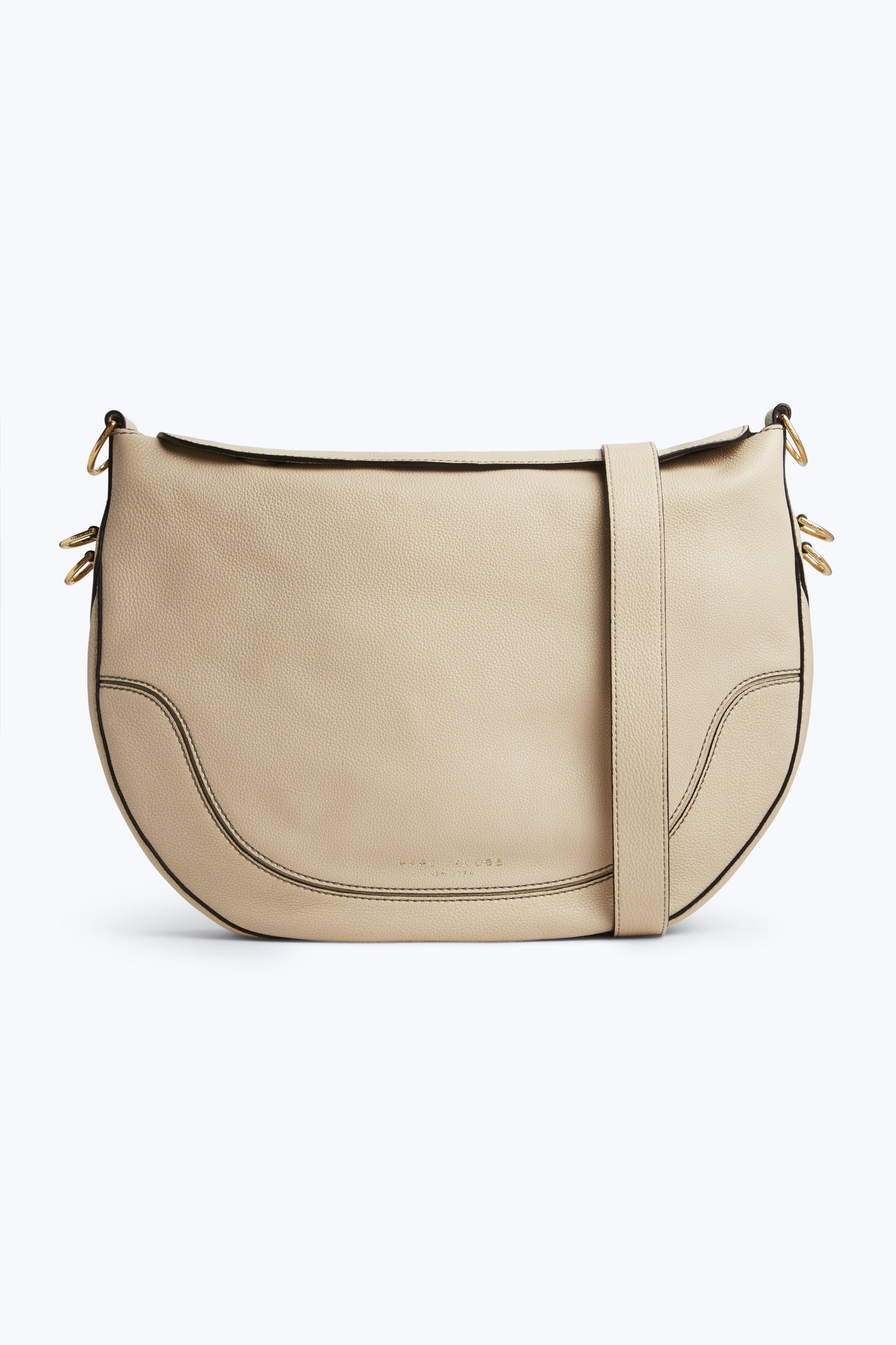 Marc Jacobs Leather Shoulder Bag - Beige In Buff