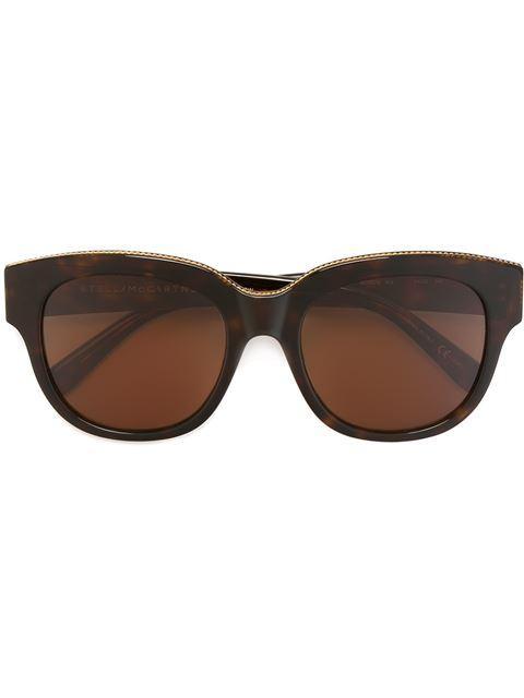 Stella Mccartney Sonnenbrille Mit Rundem Gestell