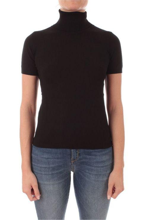 Iblues Women's 736604062005 Black Viscose T-shirt